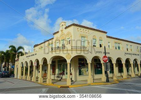Palm Beach Fl Usa Image Photo