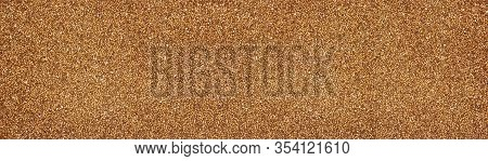 Buckwheat Grain Wide Large Texture. Agricultural Background