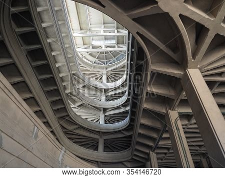 Lingotto Car Factory In Turin