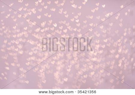 Heart shaped pattern