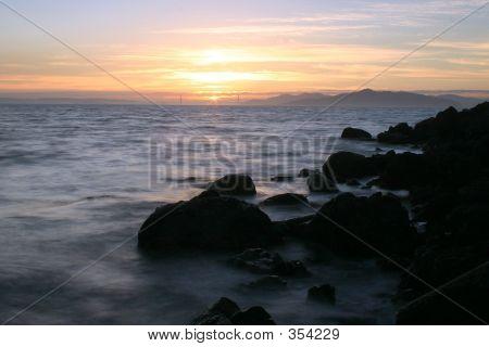 Sunset On The Golden Gate