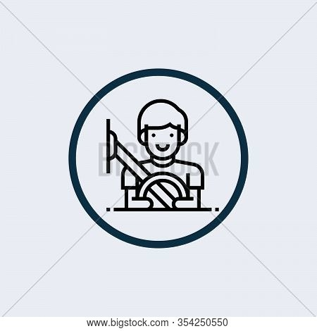Seatbelt Glyph Icon Vector On White Background. Flat Vector Seatbelt Icon Symbol Sign From Modern Tr