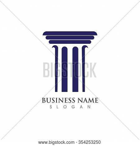 Column Logo Or Symbol Creative Template Illustration Vector Design