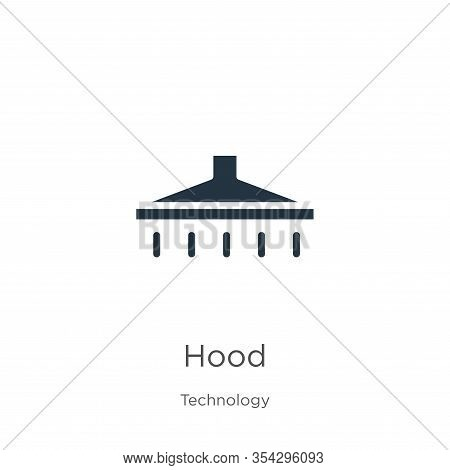 Hood Icon Vector. Trendy Flat Hood Icon From Technology Collection Isolated On White Background. Vec
