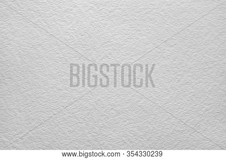 White Background Of Watercolor Paper, Blank Paper