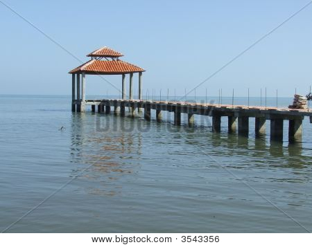 An Old Beautiful Dock