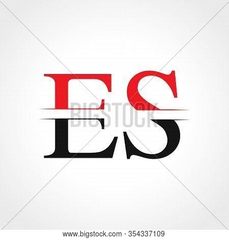 Initial Es Letter Linked Logo Business Vector Template. Creative Letter Es Logo Design