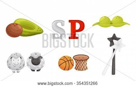 Pairs Of Salt And Pepper Shakers Vector Set