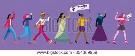 Women's Day Demonstration