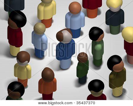 Diversity Mingling