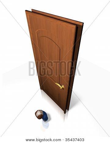 Little Man, Big Door