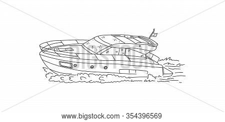 Organization Leisure, Competition On Its Own Boat. Acquisition Luxury Goods. Sea Holidays Ennobles A