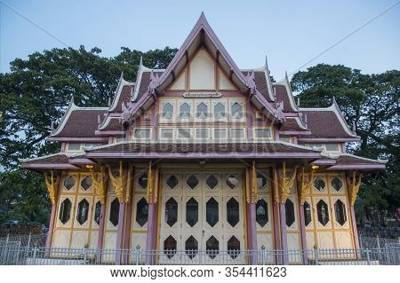 Asia Thailand Hua Hin Railway Station