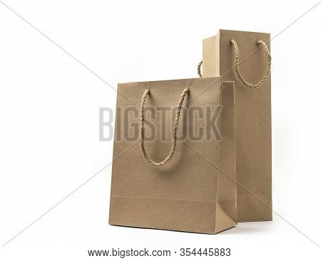 Two Proportion Size Brown Paper Bag