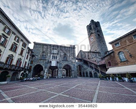 Bergamo old city