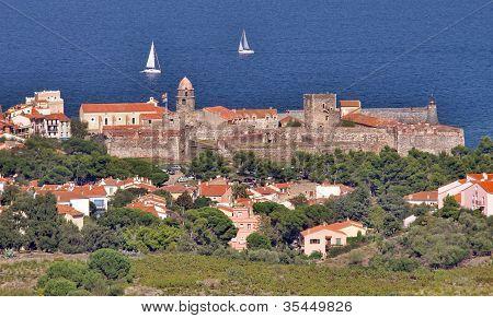 Collioure, Mediterranean Sea Coast
