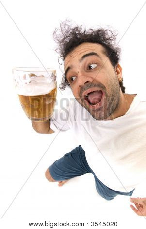 Man And Beer