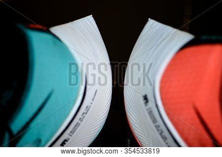 Bangkok, Thailand, March 7. 2020: Nike Running Shoes Vaporfly Next%. Controversial Athletics Maratho