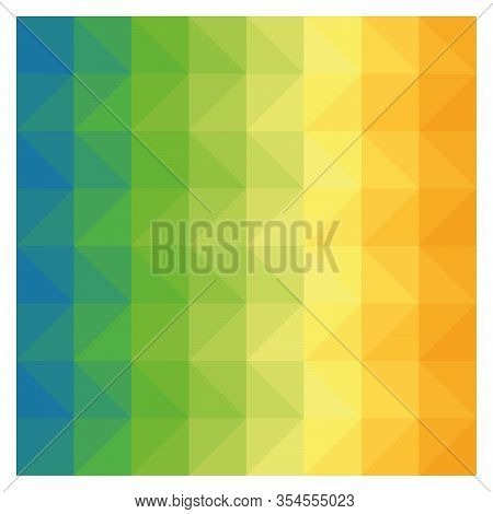 Abstract Geometric Background Pattern. Vector Lowpoly Gradient Backdrop