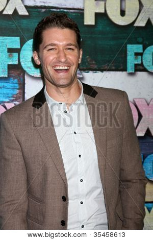 LOS ANGELES - JUL 23:  Matthew Morrison arrives at the FOX TCA Summer 2012 Party at Soho House on July 23, 2012 in West Hollywood, CA