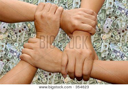 Hand Team Work