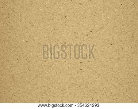 Brown Cardboard Sheet Abstract Texture Or Peper Box Texture Background.