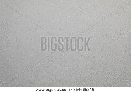 Gray Painted Stucco Wall With Stippled Texture