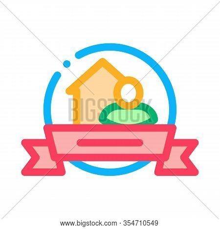 Brewer Logo Label Icon Vector. Outline Brewer Logo Label Sign. Color Isolated Contour Symbol Illustr