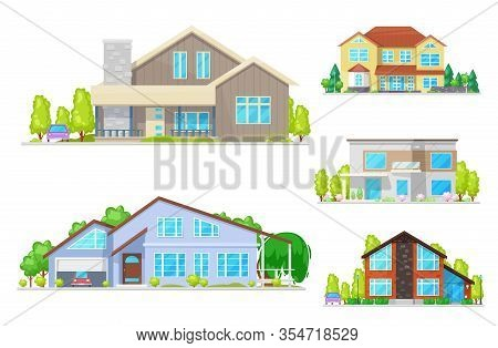 Residential Houses And Villas, Real Estate Apartments, Cottages And Townhouses,