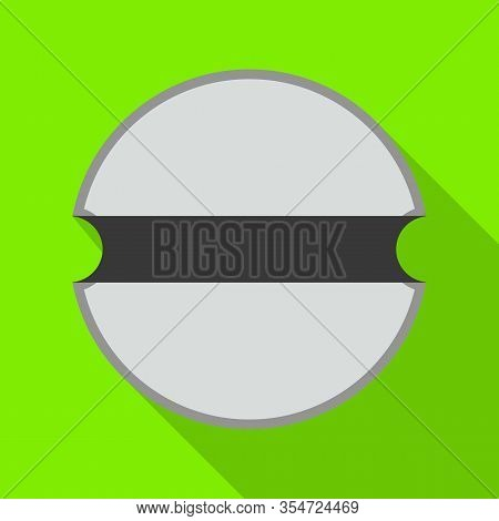 Rivet Nut Vector Icon.flat Vector Icon Isolated On White Background Rivet Nut.