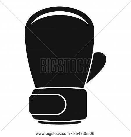 Boxing Glove Icon. Simple Illustration Of Boxing Glove Vector Icon For Web Design Isolated On White