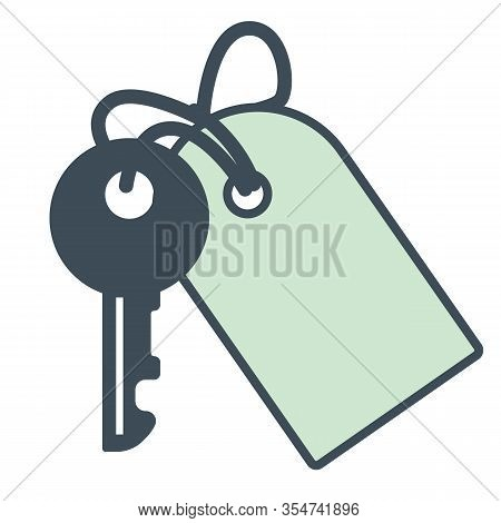 Hotel Room Key, Opener With Trinket, Accommodations Or Apartment