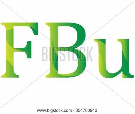 Burundian Frank Currency Of Burundi Symbol Icon Vector Illustration On A White Background