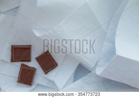 The Concept Of Dification. Chocolate On The Toilet Paper. The View From The Top.