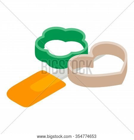 Baking Accessory Icon. Isometric Illustration Of Baking Accessory Vector Icon For Web