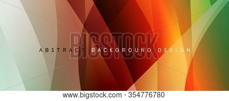 Trendy simple fluid color gradient abstract background with dynamic wave line effect. Illustration For Wallpaper, Banner, Background, Card, Book Illustration, landing page