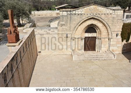 Church Of The Sepulchre Of Saint Mary, Also Tomb Of The Jesus Mother, Next To The Mount Of Olives, I