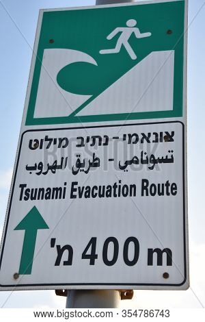 Tsunami Facts And Information On Board In Tel Aviv, Israel On 3 Letters