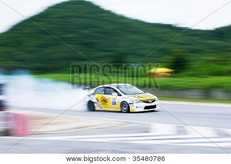 Racing Car Blows Up Engine