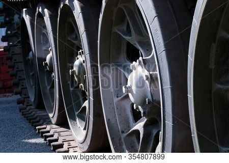 Tank Caterpillar. Military. Old Military Equipment Of The Ussr And Russia. Military Equipment. Milit