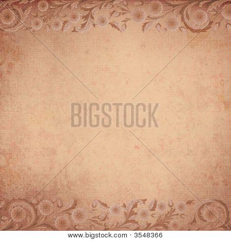 Background Antique Floral Grunge