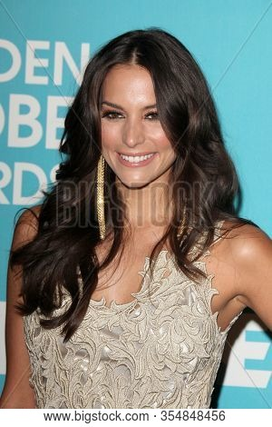 LOS ANGELES - DEC 8:  Genesis Rodriguez at the HFPA And InStyle Present