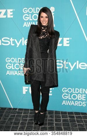 LOS ANGELES - DEC 8:  Erica Dasher at the HFPA And InStyle Present