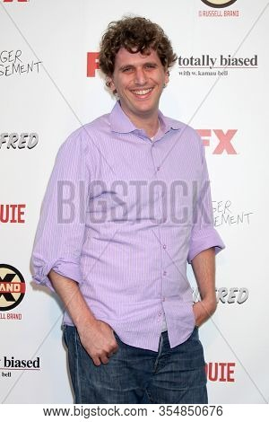 LOS ANGELES - JUN 12:  Matt Stoller at the FX Summer Comedies Party at the Lure on June 12, 2012 in Los Angeles, CA