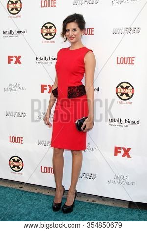 LOS ANGELES - JUN 12:  Noureen DeWulf at the FX Summer Comedies Party at the Lure on June 12, 2012 in Los Angeles, CA