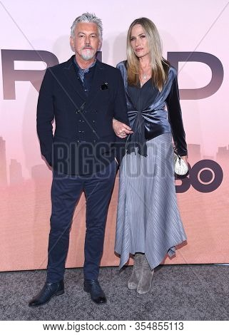 LOS ANGELES - MAR 05:  Tommy Flanagan and Dina Livingston arrives for ÔWestworldÕ Season 3 Premiere on March 05, 2020 in Hollywood, CA