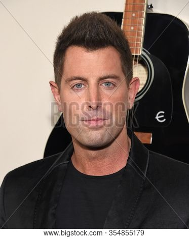 LOS ANGELES - MAR 07:  Jeremy Camp arrives for 'I Still Believe' Screening on March 07, 2020 in Hollywood, CA