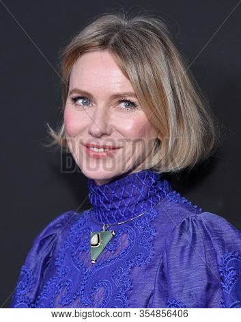 LOS ANGELES - JAN 25:  Naomi Watts arrives for the G'Day USA Gala on January 25, 2020 in Beverly Hills, CA