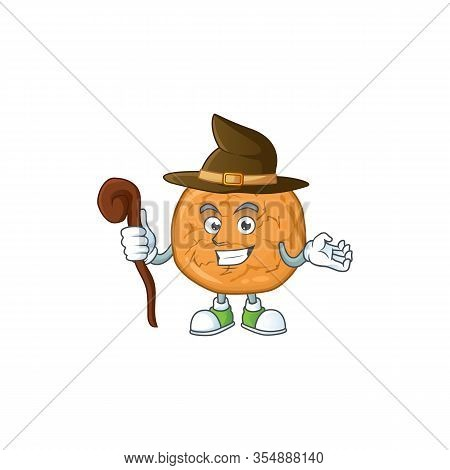 Sweet And Tricky Witch Molasses Cookies Cartoon Character