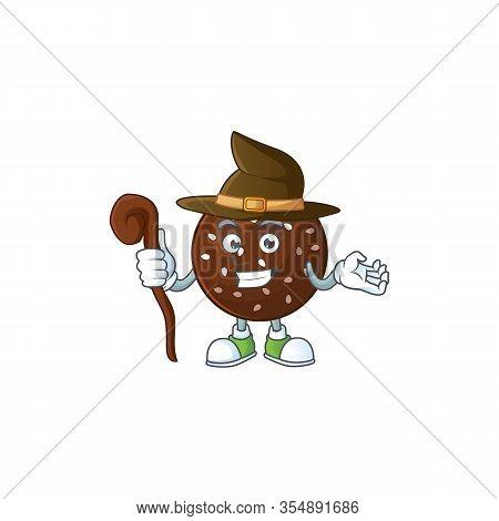 Sweet And Tricky Witch Chokladboll Cartoon Character